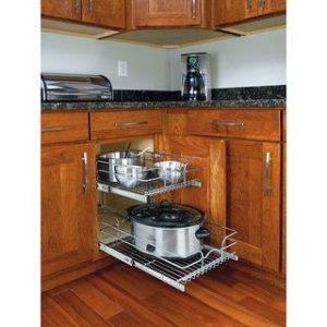 Rak Pinggan Bawah Atau Basket Rack Adalah Aksesori Dapur Yang Berfungsi Sebagai Tempat Penyimpanan Perkakasan Seperti